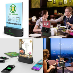 Charging Table Menus